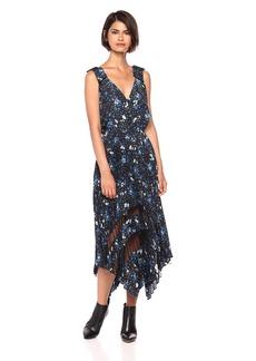 The Kooples Women's Women's V-Neck Floral Dress