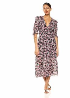 The Kooples Women's Women's Wrap Dress in a Candy Flower Print