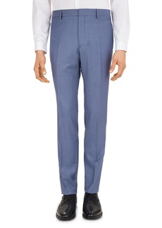 The Kooples Zigzag Wool S120's Slim Fit Trousers