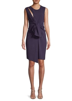 The Kooples Tie-Accented Sheath Dress