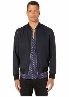 The Kooples Zip-Up Teddy Jacket