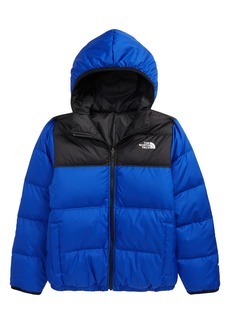 Boy's The North Face Kids' Moondoggy Reversible Water Resistant 550-Fill Down Jacket