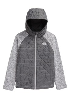 Boy's The North Face Quilted Sweater Fleece Jacket