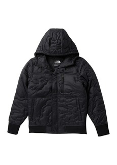 The North Face Camo Quilted Water Resistant Heatseeker(TM) Insulated Hooded Jacket (Big Boys)