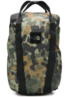 The North Face camouflage print backpack