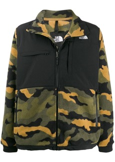 The North Face Denali camouflage jacket