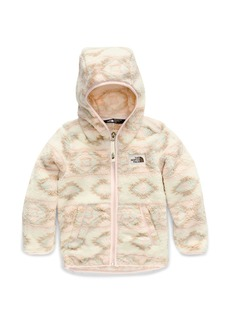 The North Face Girl's Campshire Hooded Sherpa Fleece Jacket  Size 2-4T
