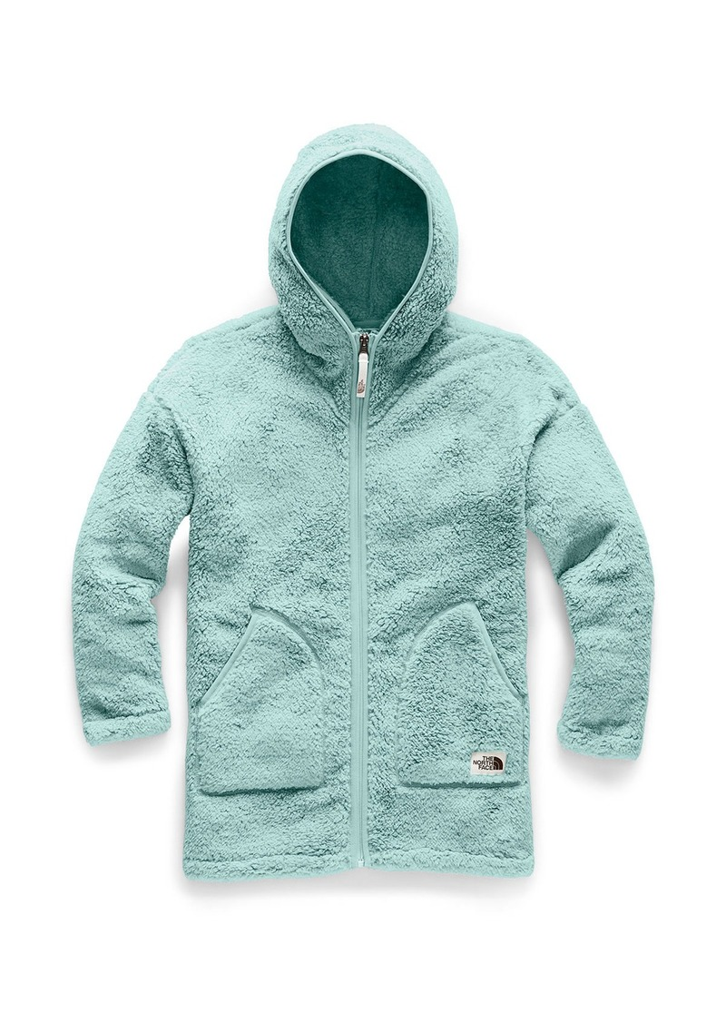 The North Face Girl's Campshire Long Fleece Hooded Jacket  Size XXS-XL