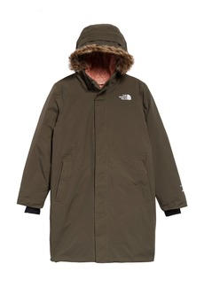 Girl's The North Face Arctic Swirl Waterproof 550 Fill Power Down Parka