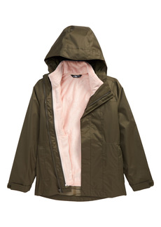 Girl's The North Face Kid' Osolita Triclimate Waterproof 3-In-1 Jacket