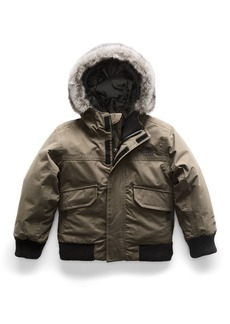 The North Face Gotham Down Hooded Jacket w/ Faux-Fur Trim  Size 2-4T