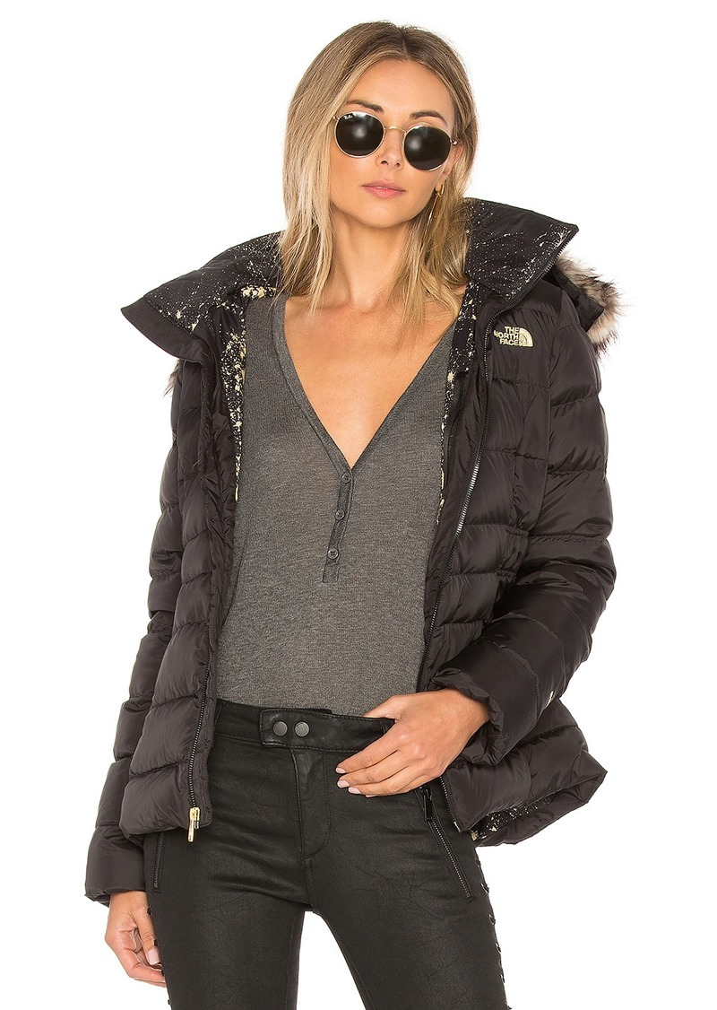 8692d8a24 Gotham Jacket II With Faux Fur Trim