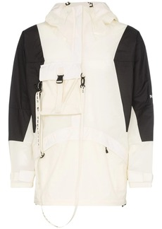 The North Face Hooded logo strap jacket