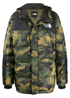 The North Face hooded padded jacket