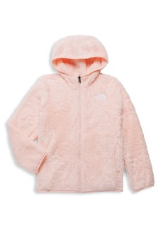 The North Face Little Girl's & Girl's Faux Fur Hoodie