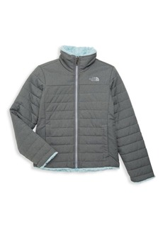 The North Face Little Girl's & Girl's Reversible Jacket