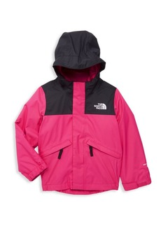The North Face Little Girl's Snowquest Triclimate Waterproof Jacket
