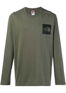 The North Face logo print long sleeve top