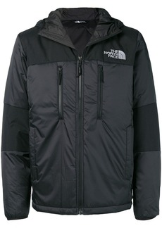The North Face logo print padded jacket