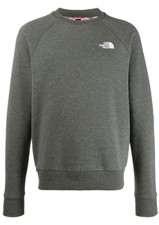 The North Face logo print sweatshirt