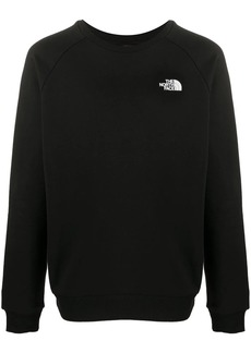 The North Face long sleeve embroidered logo jumper