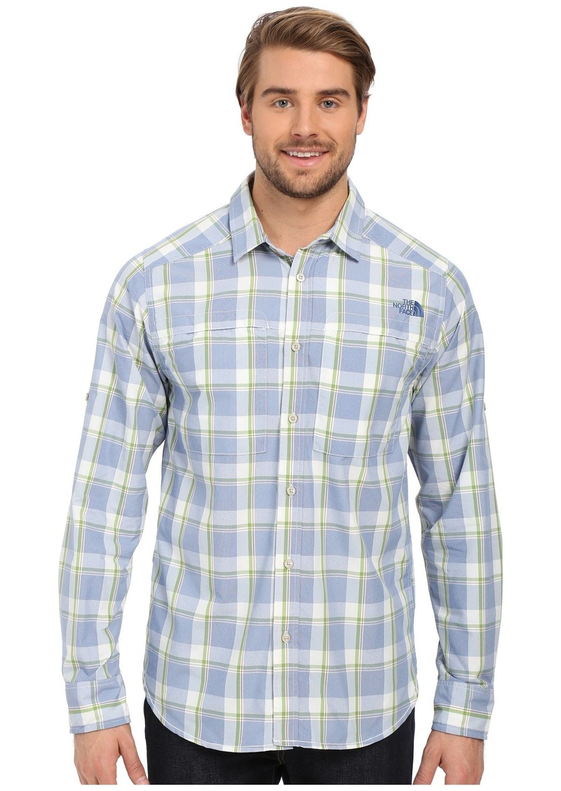 ec040720780cbe The North Face Long Sleeve Traverse Plaid Shirt