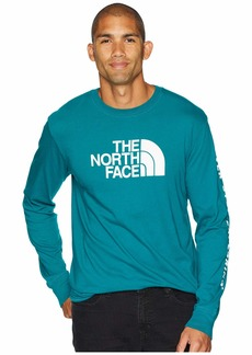 The North Face Long Sleeve Well-Loved 1/2 Dome Tee