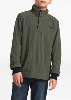 The North Face Mountain Sweatshirt 1/4 Snap Jacket (Little Boys & Big Boys)