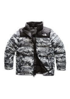 The North Face Nuptse Camo-Print Quilted Down Jacket