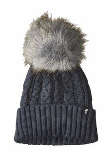 The North Face Oh-Mega Fur Pom Beanie