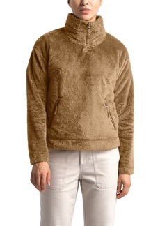 The North Face Plush Fleece Quarter Zip Pullover