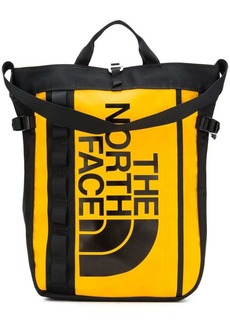The North Face printed logo backpack