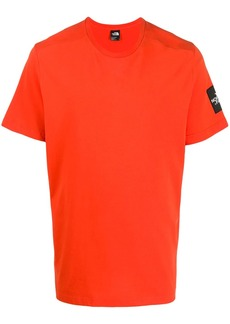 The North Face short sleeve logo patch T-shirt