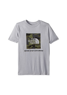 The North Face Short Sleeve Tri-Blend Tee (Little Kids/Big Kids)