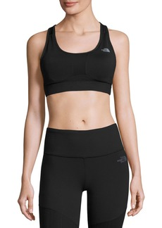 The North Face Stow-N-Go IV Sports Bra for C-D Cups  Black