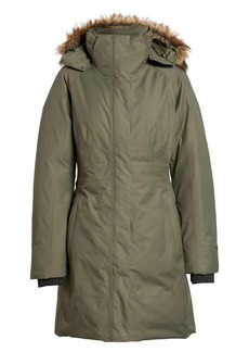 The North Face Arctic II Waterproof 550-Fill-Power Down Parka with Faux Fur Trim