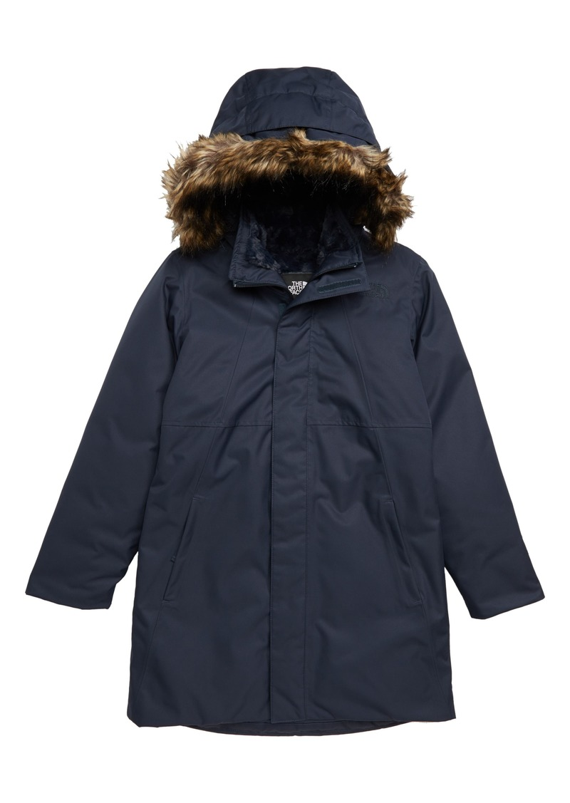 8c7d78aba3 The North Face Arctic Swirl Waterproof 550-Fill-Power Down Parka (Big Girls