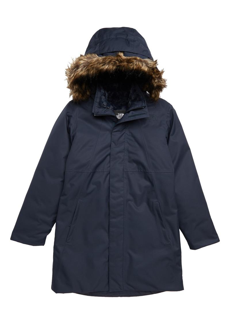 The North Face Arctic Swirl Waterproof 550-Fill-Power Down Parka (Big Girls de25678ec