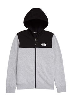 The North Face Back to School Full Zip Hoodie (Big Boy)