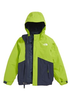The North Face Boundary Triclimate® Waterproof 3-in-1 Snow Jacket (Toddler Boys)