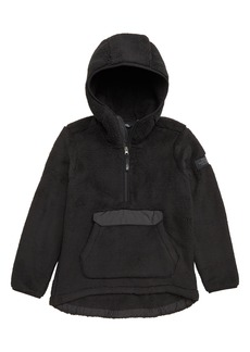 The North Face Campshire High Pile Fleece Quarter Zip Hoodie (Big Girls)
