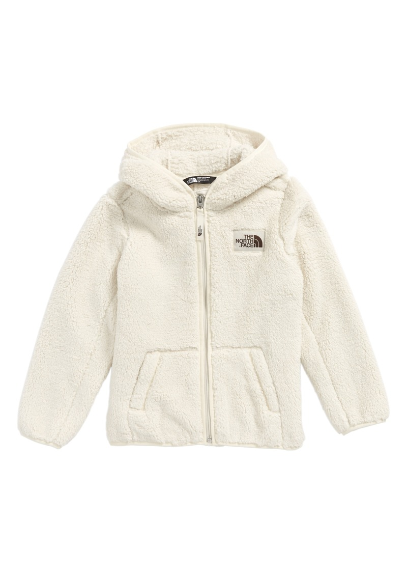 46bda9aae1ad The North Face Campshire Hooded Fleece Jacket (Toddler Girls   Little Girls)
