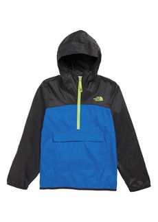 The North Face Fanorak Water Repellent Hooded Windbreaker (Big Boys)