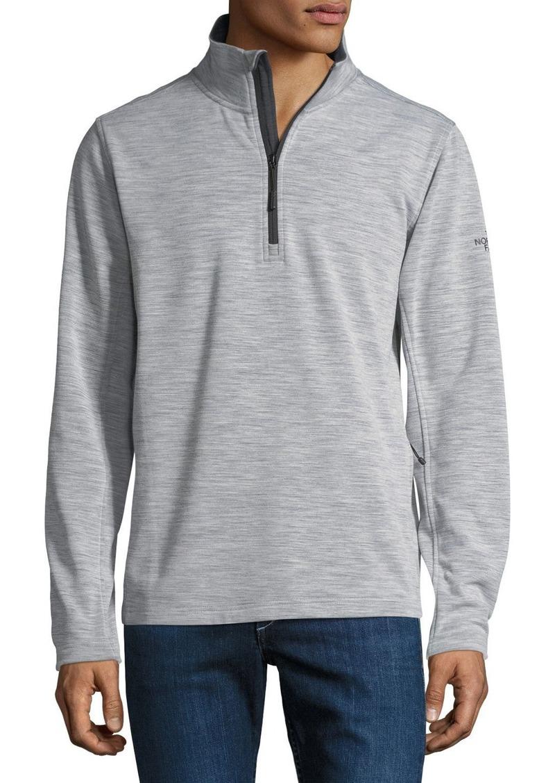 6442e6f4b FlashDry Wool-Blend Quarter-Zip Pullover