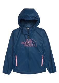 The North Face Flurry Hooded Windbreaker (Big Girls)