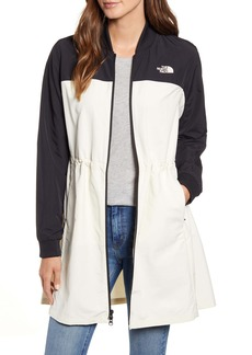 The North Face Flybae Water Resistant Longline Bomber Jacket (Nordstrom Exclusive Colors)