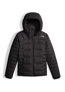 The North Face Girls' Double Down Zip-Up Hooded Jacket
