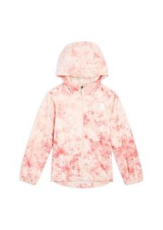 The North Face Girls' Zipline Hooded Rain Jacket - Big Kid