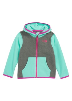 The North Face Glacier Full Zip Hoodie (Baby Girls)