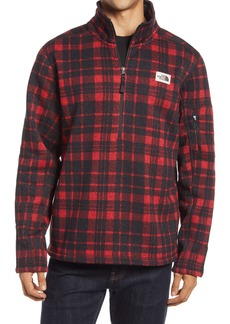 The North Face Gordon Lyons Plaid Half-Zip Pullover